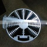 Professional manufacturer for low price round aluminum heatsink (aluminum extrusion heat sink, large aluminum heat sink)