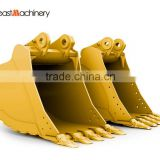 OEM service Mining Excavator Bucket Doosa-n Excavator parts of hard rock buckets in India