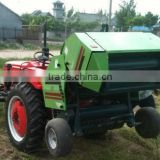 2014 NEW type CE approved mini round baler with hemp twine