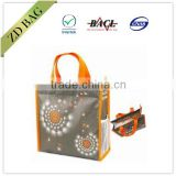 eco friendly non woven bag with mesh pocket