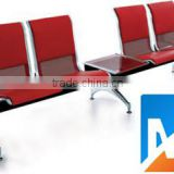 4-seater cheap modern high quality steel barber shop waiting room chairs to sale