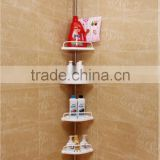 Bathroom Accessory extendable Shower Caddy Corner Shelf Organizer Bath Storage Bathroom Accessory Rack Holder YS01