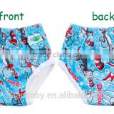 Waterproof washable changing training pants healthy bamboo potty toddler training diapers