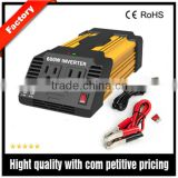 DC AC car inverter 12V to 110V modified sine wave power inverter with dual AC outlets and double USB ports