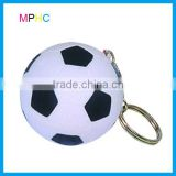 Promotional Mini Football Soccer Anti Stress Toy Squeeze ball keychain