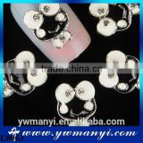 Lovely frog jewelry oil drip nail jewelry fashion style nail art L0063