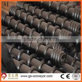 Friction aligning conveyor roller,Rubber ring coated conveyor roller,conveyor friction roller                                                                         Quality Choice