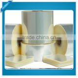 Chinese manufacturer Transparent corona treated BOPET film be used for adhesive tape film