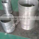 Tungsten crucible for sapphire crystal growing furnace