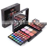 Fashion Makeup Combination Palette Set Eyeshadow + Lipsgloss + Powder + Blush Cosmetic Set