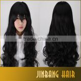 Woman wig long wavy anime cosplay wig heat resistant Ladies' Curly Wigs synthetic 80 cm cheap cosplay Wigs