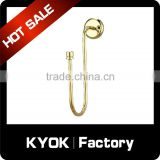 KYOK Lenght 2m Industrial Pipe Curtain Rod Hooks, Windows Metal Curtain Rod Accessories Premium Quality