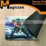 Washable durable disposbale mat, printed plastic placemat