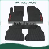 Rubber Car Floor Mats All Weather Custom Fit Carmats PVC Plastic Car Mats For Ford Focus