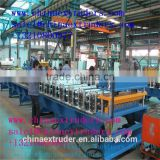 corrugated PVC plastic roof tile / sheet extrusion production line/glazed roof tile making machine