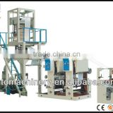 High quality PE plastic film blowing machine and rotogravure printing machine line