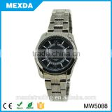 Goog quality new style miyota japan movt simple stainless steel men watch