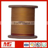 Double Layer Fibre Electric Fiberglass Insulation Covered Wire