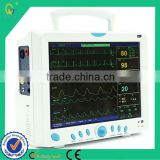 Latest High-quality Best Price Portable Compact 6-parameter Patient ICU Monitor With 12'' High-resolution Color TFT LCD