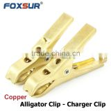 Pure Copper Battery Charger Clip Thickened Crocodile Clamp jump start clip 4 inch Booster cable Aligator Clamp