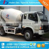 4x2 concrete mixer truck concrete mixer for sale