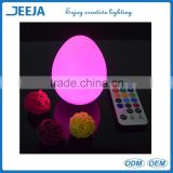 banquet hall supplies LED egg light for wedding decorations centerpieces