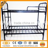 Direct factory sale high quality heavy duty design military cheap metal bunk beds