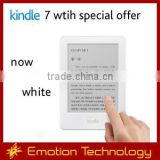 "Amazon All-New Kindle 6"" 2015 WiFi white with special offers Wholesales Electronic Books reader Amazon white Kindle"