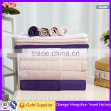dobby border cotton terry towel set