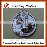 cheap price oem custom tin button badge,round tinplate metal badge with card packing