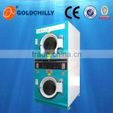 10kg electric clothes dryer with Promotional price commercial laundry coin operated stack-able dryers