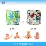 Waterproof Fabric Reusable Baby Bamboo Cloth Diaper