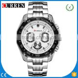 CURREN/CW025 Luxury Full Steel dials decoration Men Watch Men Business Quartz Watch Waterproof Relogio Masculino Relojes Hombre