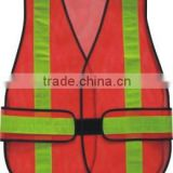 Red Reflective Safety Vest