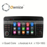 Ownice car DVD audio for Mercedes-benz ML w164 with mp3 player gps audio rds bluetooth multimedia car radio DAB