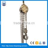 304 /316 Stainless steel chain manual hoists