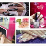 nail beauty machines,5 finger nails one time-New Arrival in 2013-flower,fruit,mobile,egg print too