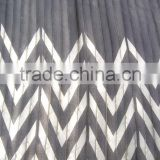 Printed fabric bronzed for dresses black and white short dresses elegant dresses fabric for maxi dress or lady skirt
