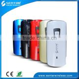 High Battery 15 Working Hours Router 3G Outdoor 3G Router Without Sim Card Slot External Antenna