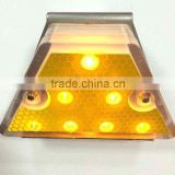 Solar LED reflective delineator , guardrail delineator