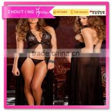 LG4006 women sexy black nightwear underwear