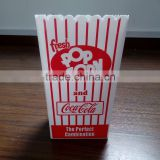 popcorn food box /tub/container wedding party favor