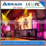 Hot sale p20mm outdoor full color video stage background mesh LED glass screen