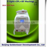 Eyebrow Removal 2013 Hot Selling Multi-Functional Beauty Equipment E-light+IPL+RF Machine Foto Epilation Machine No Pain