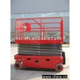 Inquiry about JCHI aerial work platform-CE approved self-propelled electric scissor lift GTJZ08