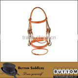 Leather horse bridle racing leather horse bridle high quality leather horse bridle with brass fitting,brown