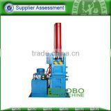 Scrap aluminium baling machine