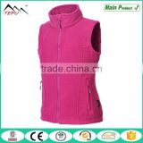 2017 New Arrival Windproof Wear Girls Autumn Fleece Vest