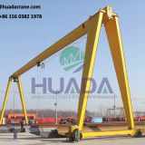 manufacturer 10 ton single beam girder gantry crane