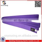 Martial arts belts wholesale cintura viola karate